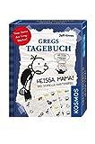 Kosmos 741624 - Gioco di Carte Heissa Mama, della Serie Il diario di Una schiappa [Importato dalla Germania]