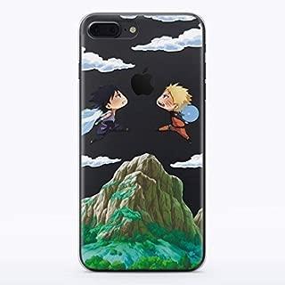 Naruto Uzumaki vs Sasuke iPhone XR Manga Shippuden Sage Sharingan Cell Phone Case for Apple iPhone XR Fandom Cases Cover MA1300