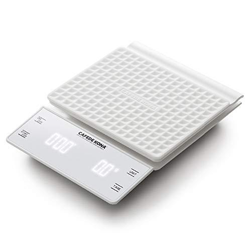 WANGXB Smart Báscula Digital para Cocina,Báscula electrónica Alta precisión,Apagado automático,Ahorro de energía y protección del Medio Ambiente,Pantalla LED.