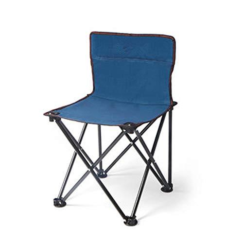 Silla plegable Mini silla plegable portátil Ligero Camping Senderismo Viajes Pesca Taburetes Silla plegable Silla de marco resistente Silla plegable de campaña ( Color : Marrón , Size : Free size )