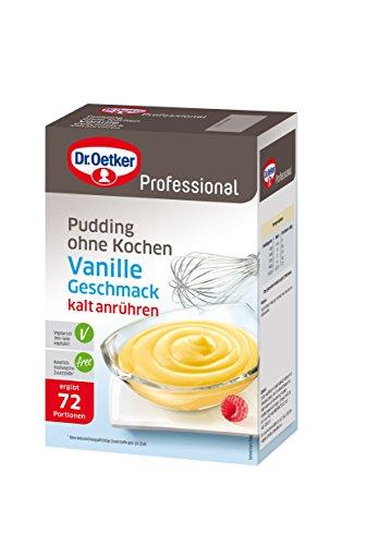 Dr. Oetker Professional Pudding ohne Kochen Vanille-Geschmack, ehemals Galetta, 1er Pack (1 x 1 kg)