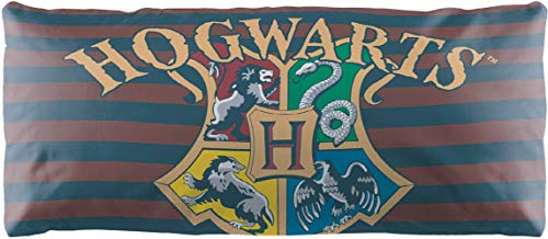 Jay Franco Decorative Body Pillow Cover (Offical Harry Potter Product), 1-Pack Bed, Measures 20 Inches x 54 Inches, Multi