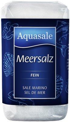 Aquasale Meersalz feinohne Trennmittel, 500-g-Beutel