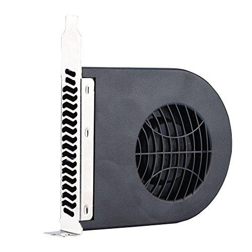 Bewinner Ventilador de refrigeración para Tarjetas de Video de refrigeración Sistema Mini PCI Slot Blower Caja de CPU DC Ventilador de refrigeración PCI para computadora