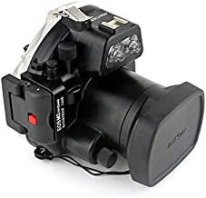 Polaroid SLR Dive Rated Waterproof Underwater Housing Case For The Canon EOS M II Camera with a 18-55mm Lens (Certified Refurbished)