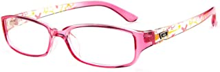 BOZEVON Unisex Children's Plain Glass Spectacles without Degrees