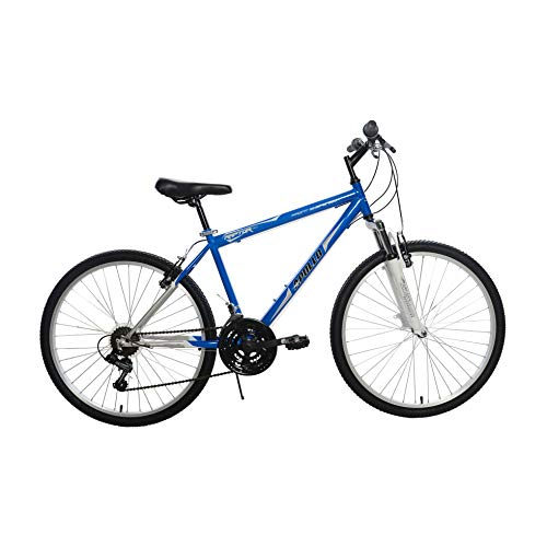 Raptor Hardtail Mountain Bike, 26 inch Wheels, 17 inch Frame, Blue