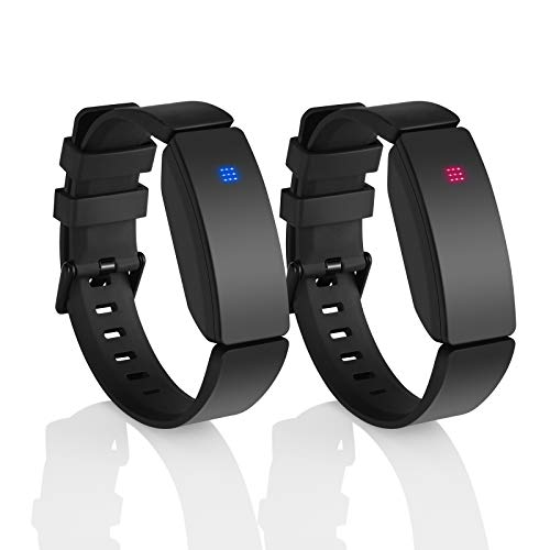 Long Distance touch Bracelets set of 2 - People around you Closer Than Ever, no matter where they are/Send SOS SMS ,relationship bracelets for Couples Lovers Family Kids Friends, Cheap Couples Gifts(Bluetooth).