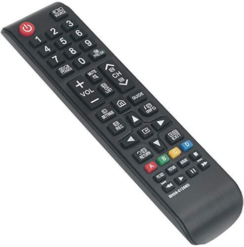 ALLIMITY BN59-01268D Sub BN59-01303A Control Remoto reemplazado por Samsung TV UE43MU6100 UE43MU6120 UE43MU6122 UE43MU6125...