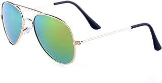 Kids Baby Aviator Sunglasses,Shileded Metal Frame Lenses...