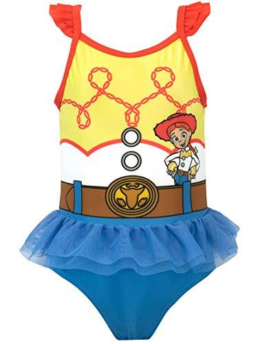 Disney Bañador para Niña Toy Story Jessie Azul 5 a 6 Años