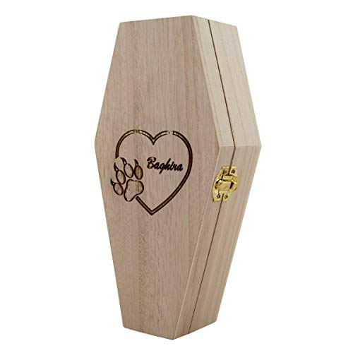 PrimoLiving Tiersarg aus Holz mit individuellem Design ca. 44,8 x 23,8 x 15 cm