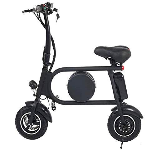 Ebike e-bike Bicicletas eléctricas rápidas para adultos Asiento plegable e-scooter con motor de 500 W Impermeable doble absorción de impactos 45 km espaciosa velocidad máxima 45 km / h Bicicleta eléct