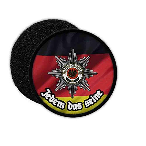 Copytec Patch SUUM CUIQUE Bundeswehr Feldjäger Militär Polizei KdoFJgBw Kommando #32127