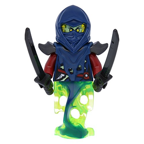 LEGO® Ninjago Minifugur Blade Master Bansha - Ghost Legs NEU aus Set 70738 inkl. zwei seltenen Ninja Schwertern