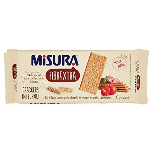 Misura Crackers di Farina 100% Integrale - 385 g