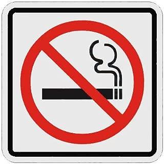 """Placa Sinalizadora Auto-Adesiva""""Proibido Fumar"""" 15x15cm Sinalize 12012/SP"""