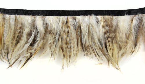 Touch of Nature 38275 Strung Mixed Hackle Feather, 72-Inch