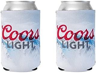 Officially Licensed Coors Light Drink Can Holder Neoprene Beer Huggie Cooler Sleeve (2)