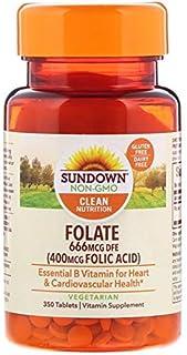 Sundown Folic Acid 400 Mcg, 350 Count