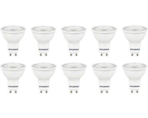 Sylvania Bombilla Reflector LED GU10/5W (50W) 345lm 3000K blanco cálido 83010unidades)