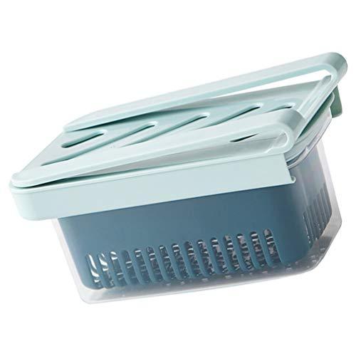 Cabilock Kühlschrank Veranstalter Behälter Kühlschrank Aufbewahrungsbox Schublade Veranstalter Regal Lebensmittel Obst Gemüse Eierhalter