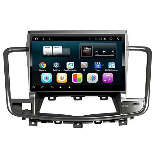 TOPNAVI Android 7.1 Auto Radio pour Nissan Teana 2008 2009 2010 2011 2012 Stéréo de Navigation Automobile avec 2 Go de RAM 32ROM WiFi 3G RDS Lien Miroir FM AM BT Audio Vidéo 10.1Inch