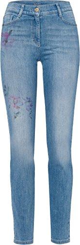 BRAX Damen Style Shakira Pain Slim Jeans, Painted, W31 / L32 (Herstellergröße: 40)