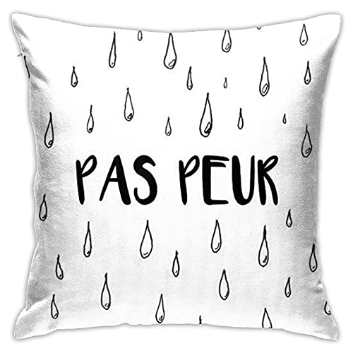 Funda de almohada Skam Francia Elliot'S Dibujo Funda de almohada decorativa para decoración del hogar cuadrada 45,7 x 45,7 cm