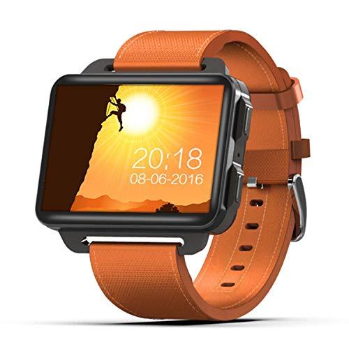 COSCANA Smart Watch Sports Watch 3g Network 1GB + 16GB 130W Cámara 2.2 Pulgadas Pantalla IPS Podómetro Compatible con Tarjeta Nano SIMOrange