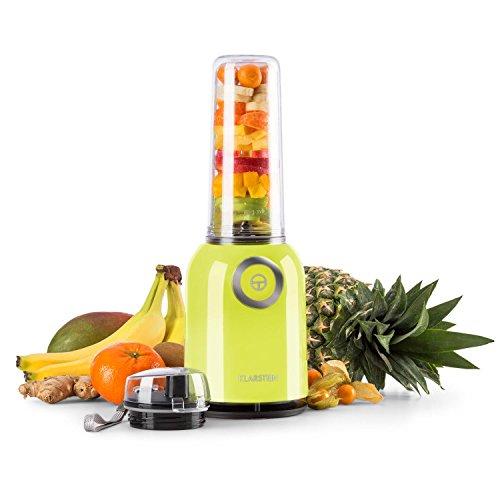 Klarstein Vitwist - Standmixer, Smoothie-Maker, Mixer, Power-Blender, Spülmaschinen geeignet, kinderleichte Reinigung BPA-frei, 23.000 U/min, Leistung: 250 W, Fassungsvermögen: 0,45L, grün