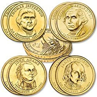 2007 Various Mint Marks Presidential Dollar Uncirculated