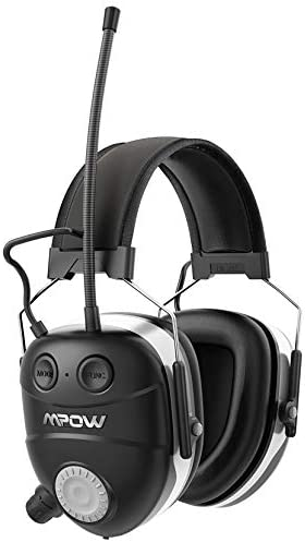 Mpow Shooting Ear Protection Professional Electronic Earmuffs with Listening Mode 22dB NRR Earmuffs product image