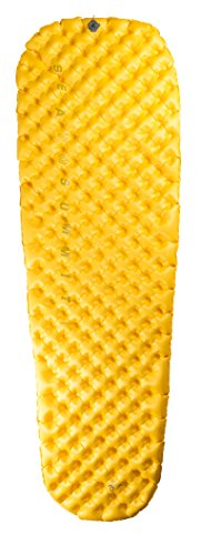 Sea to Summit – Ultralight Mat, Couleur Jaune, Taille 198 x 64 cm