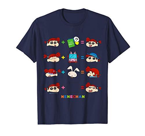 クレヨンしんちゃん 〇+〇=? ネネちゃんVer. Tシャツ