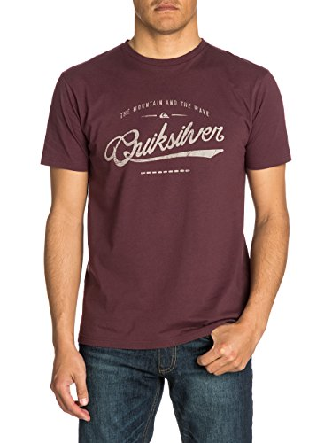 Quiksilver Herren T-Shirt Short Sleeve Bright T C10, Sassafras, M