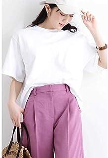 エヌ ナチュラルビューティーベーシック(N.Natural Beauty Basic*) ショート度詰めTシャツ
