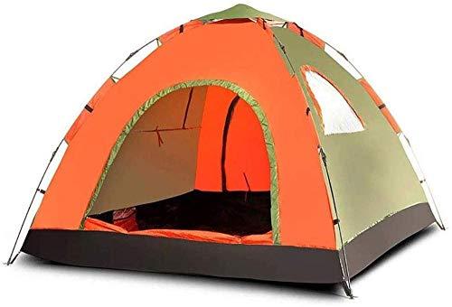 YAYY Familie Waterdichte Lichtgewicht Backpacking Tent voor Camping Wandelen Reizen Klimmen Geschikt voor 3-4 personen - Eenvoudige Set Up(Upgrade)