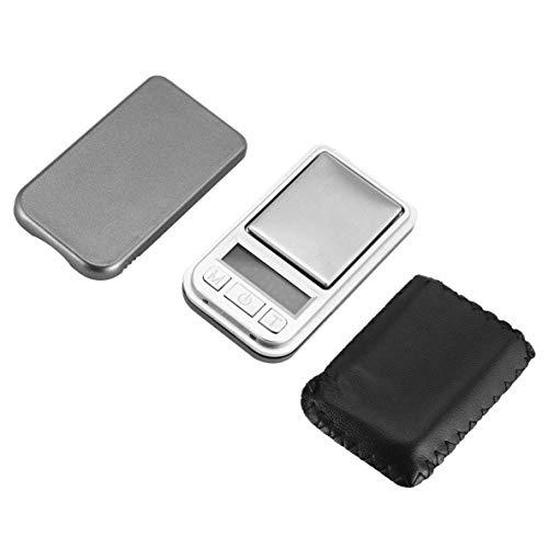 CHOUCHOU Colgante Pendientes Mini Digital de Bolsillo Escala 200g 0.01g Peso de precisión de medición for la Cocina Farmacia joyería de Oro Pesada de Tara