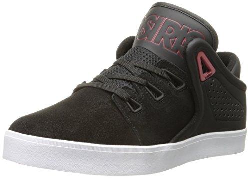Osiris Herren D3V Skate-Schuh, Schwarz (schwarz/red), 39.5 EU
