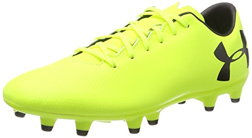 Under Armour UA Force 3.0 FG, Zapatillas de Fútbol para Hombre, Amarillo (High-Vis Yellow), 42 EU