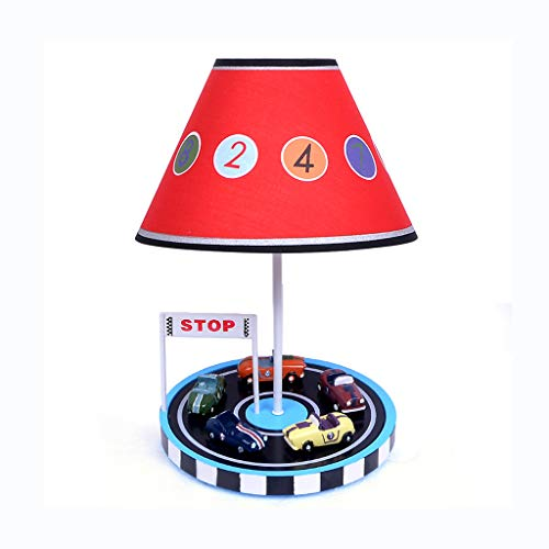 Home Improvement/Lighting & Ceiling Fans/Lamp Table Lamp Eye Protection Children's Room Car Table Lamp Bedroom Bedside Lamp Creative Personality Boy Cartoon Warm Dimming Night Light Best Gift