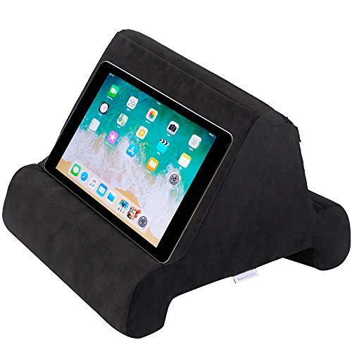 wavveUziz Memory Foam Tablet Pillow Stand, Multi-Angle Tablet Pillow...