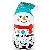 Dapuly Luz nocturna LED con mando a distancia, 60/120 cm, Navidad, inflable, Papá Noel, muñeco de nieve, muñecos de nieve, impermeable, atmósfera de luz, fiesta, decoración de Navidad