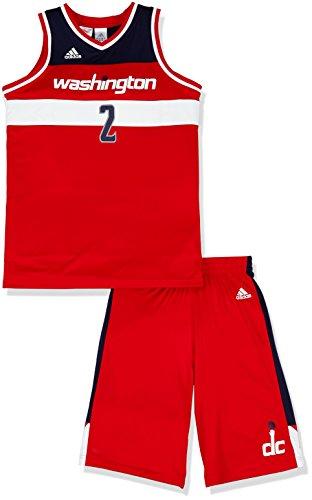 adidas Jungen Basketball-set Washington Mini, Red/White, 176