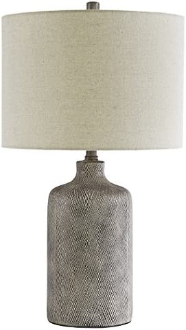 Signature Design by Ashley L117964 Linus Table Lamp Ceramic Antique Gray product image