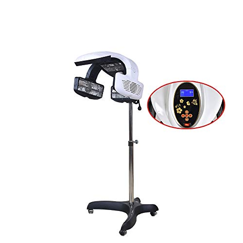 HeavenBird Secador de pelo por infrarrojos profesional con trípode, procesador, cuidado del cabello, 850 W, procesador Stand-Up, temporizador, temperatura perm, color para el cabello de salón