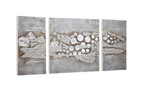 KunstLoft® Acrylschilderij 'Tip of the Iceberg' 140x70cm meerdelige kunst