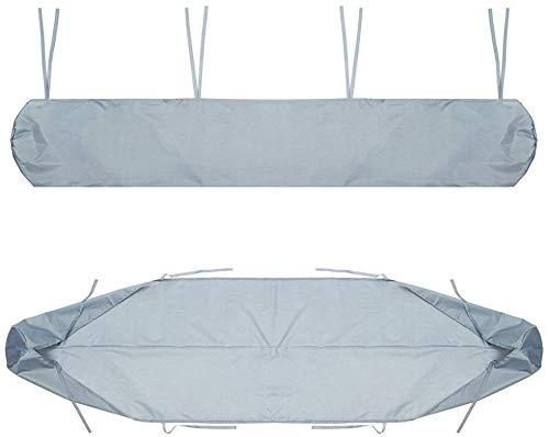 Cubre Objeto Protección Tollmllom Muebles de Patio 300OxforOutdoor Patio Tollfing Bolsa de Almacenamiento de Paraguas UTent Impermeable y Anti-Polvo Protector para la mayoría de los Muebles, gris, 4