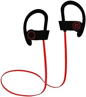 SLACTech Audífonos Bluetooth, IPX65 Impermeable In-Ear Orejas, Auriculares Inalámbrico con Micrófon para Correr, Gym, Entrenamiento, iPhone, Android y Otros Dispositivos